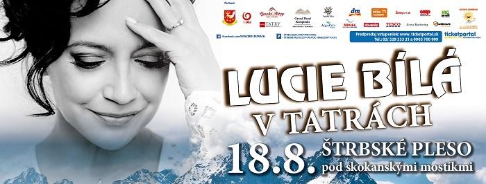 Lucie Bíla v Tatrách