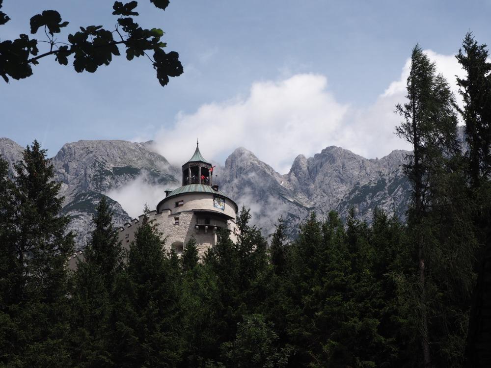hrad Hohenwerfe