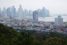 výhľad z Cerro Ancón