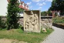 sculptural group around St Jacob's church
