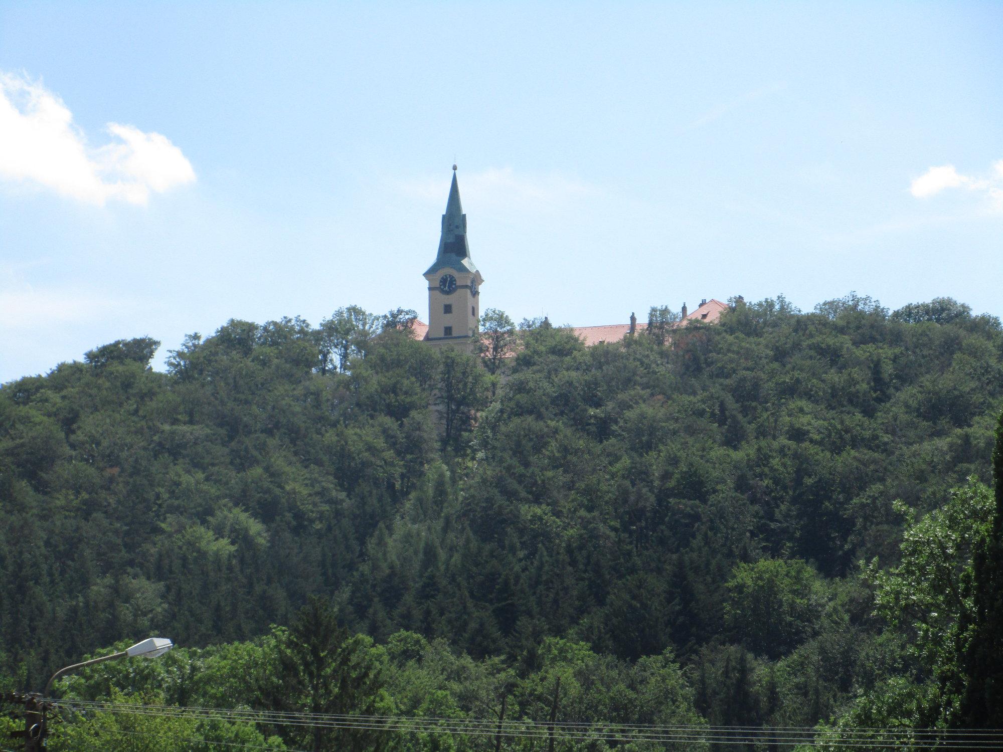 zámek Zelená Hora