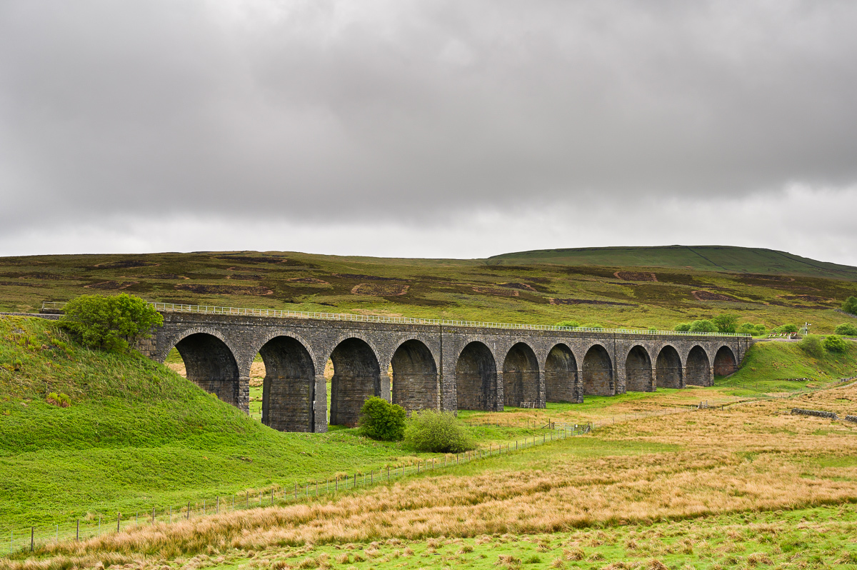 monumental Ribblehead viaduct