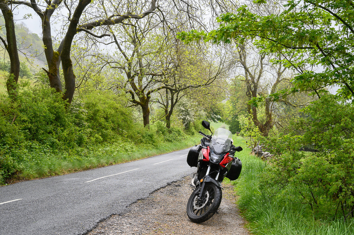 experiencing the surroundings on a bike makes it even better