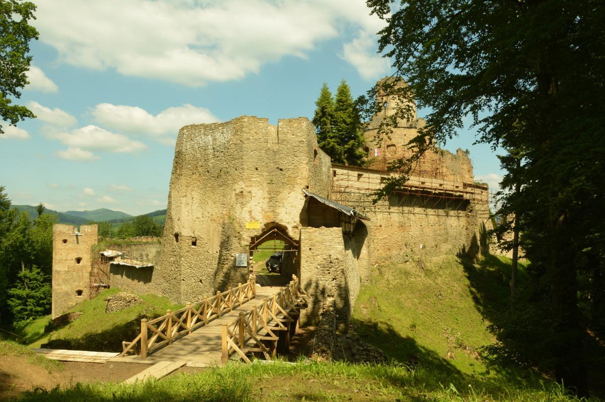 hrad Zborov, (c) Vladimír Kaminský