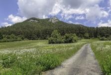 Čerenová skala (Jánošíkův stůl) - cesta