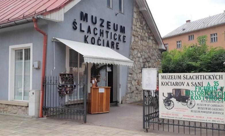 Muzeum šlechtických kočárů asaní