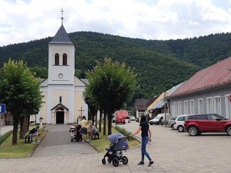 Oravský Podzámok - Rímskokatolícky kostol sv. Jána Nepomuckého