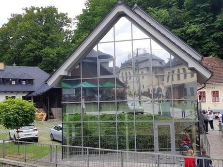 Oravský Podzámok - infocentrum