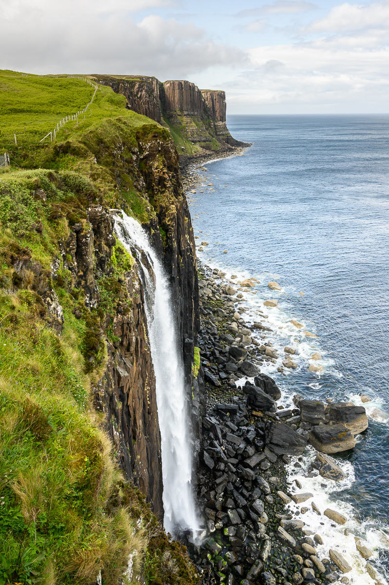 vodopád na Isle of Skye