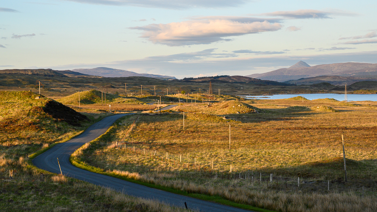a path from Rannoch Moor