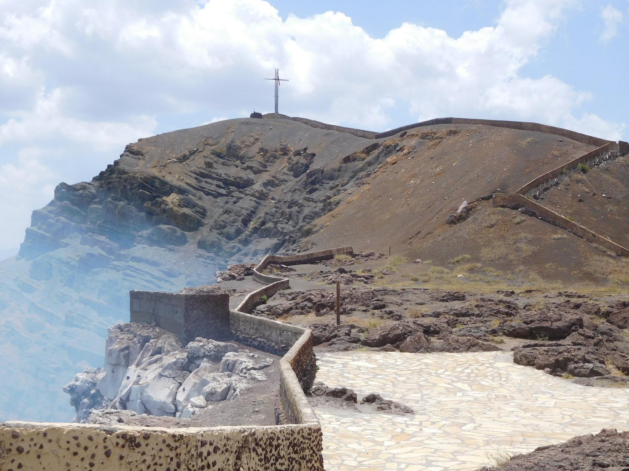 vulkán Masaya