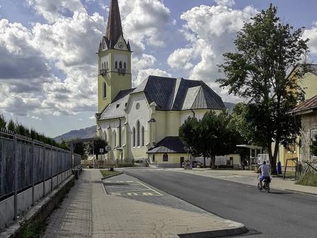 Spišské Bystré - kostol