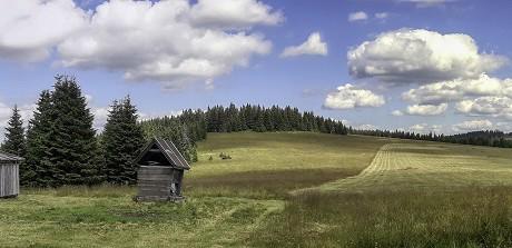 Prostredný vrch a okolie