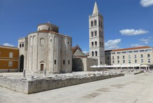 Zadar, St Donat's church