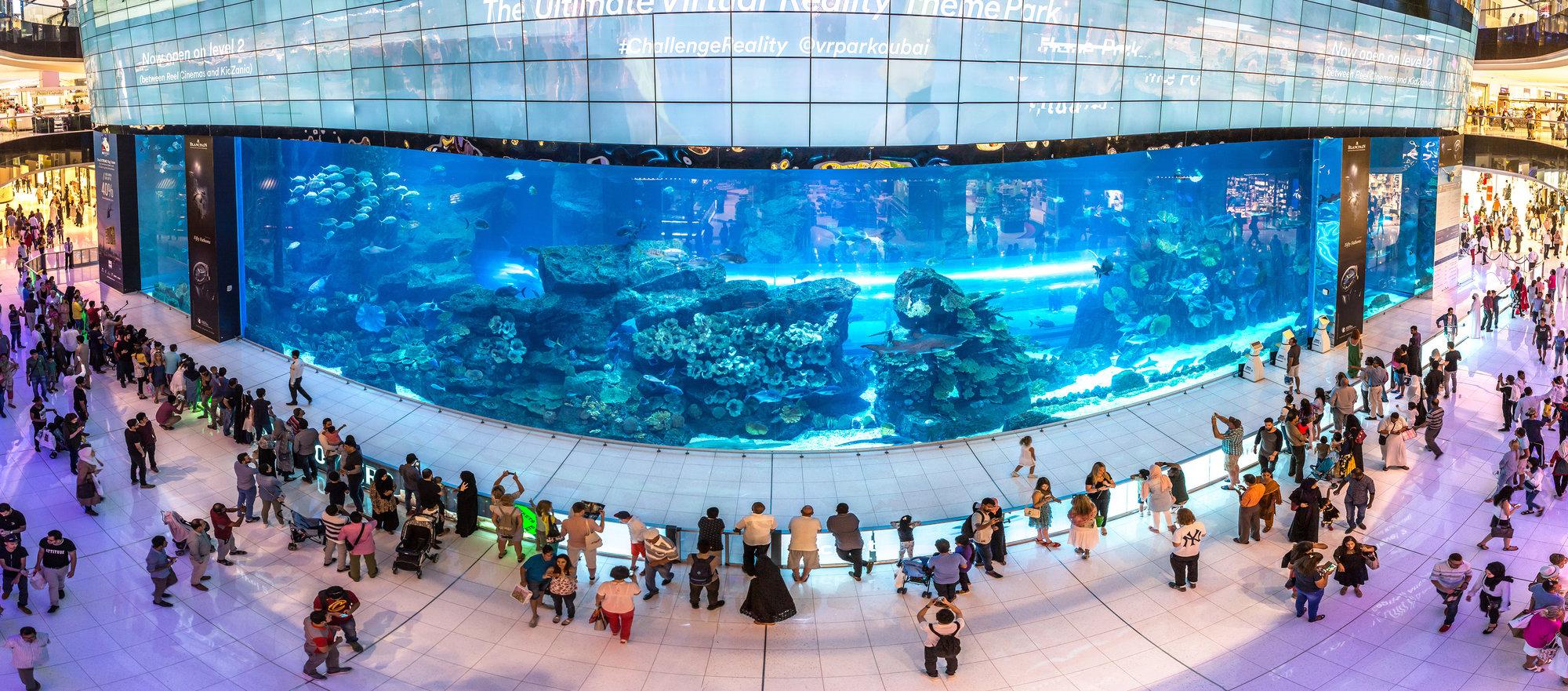 dubajské akvárium