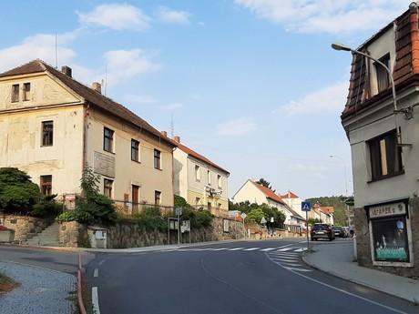 Velké Popovice - Masarykova ulica