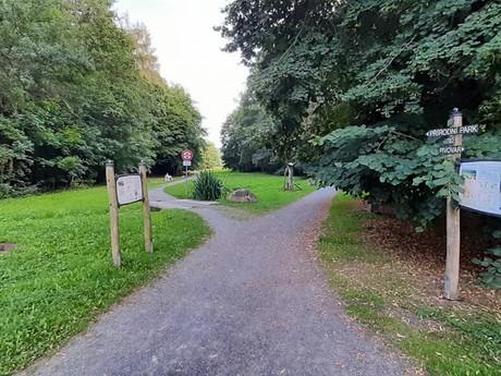 Velké Popovice - park