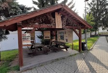 Velkopopovický pivovar (Kozel) - info altánok