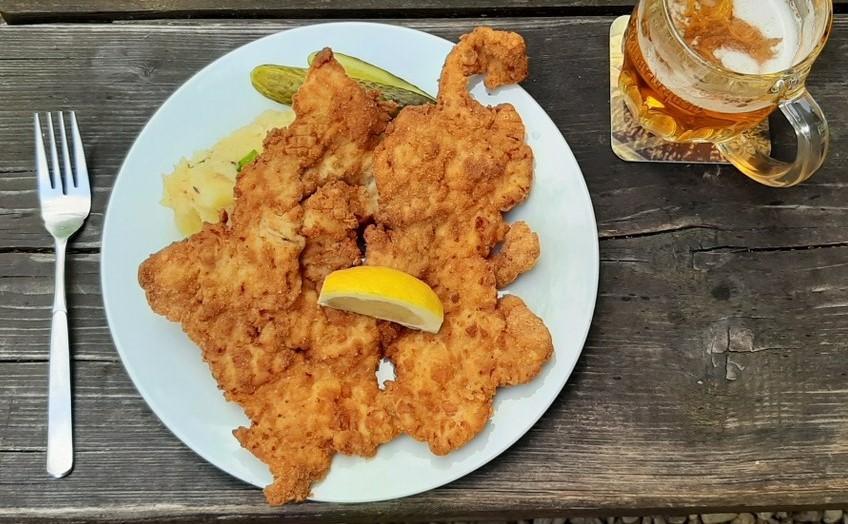 big ol schnitzel :-)