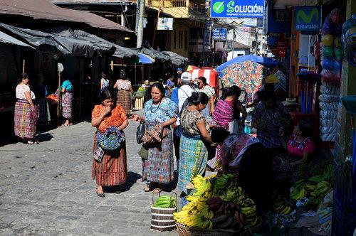San Pedro - tržnice