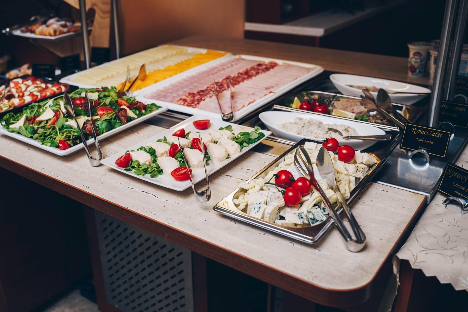 rodinný hotel Solisko**** – restaurace Al Lago (snídaně)