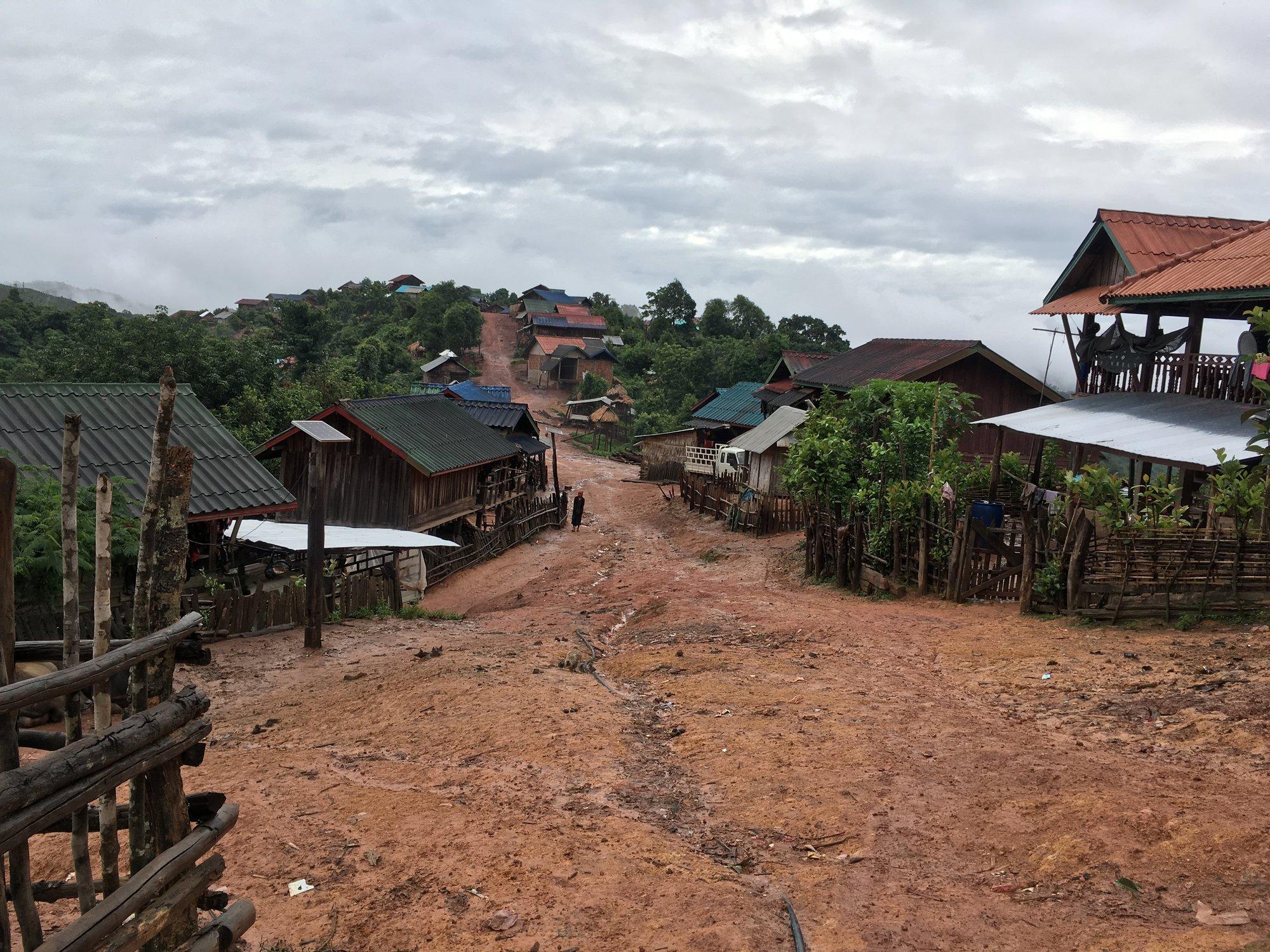 местные деревни