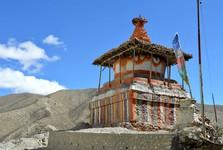 budhistická stavba, ktorá je zdrojom pokoja a mieru