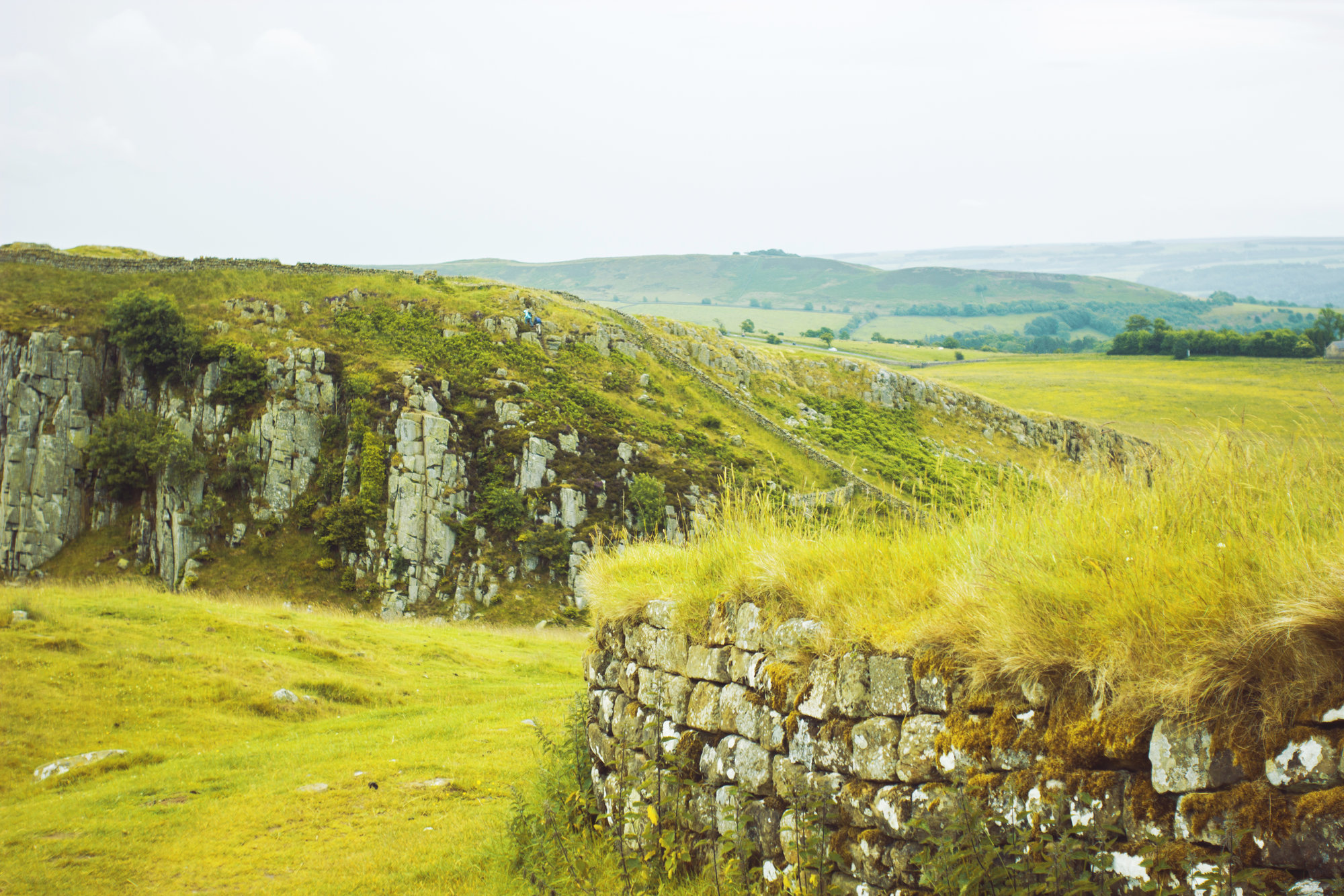 traces of the Hadrian Wall