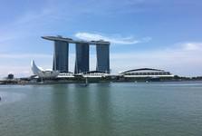 """отель """"Marina Bay Sands"""" - это икона города"""