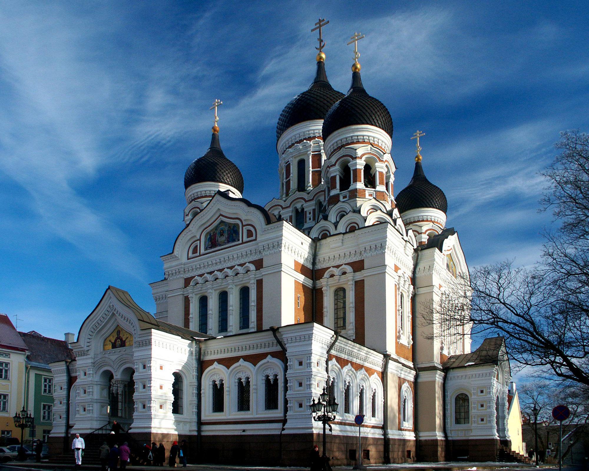 pravoslavný chrám Alexandra Něvského