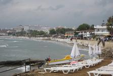 променад с пляжем