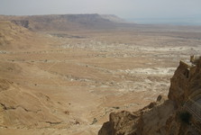 kedysi siahalo Mŕtve more až tesne pod Masadu