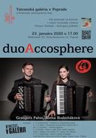 DuoAccosphere v Tatranskej galérií