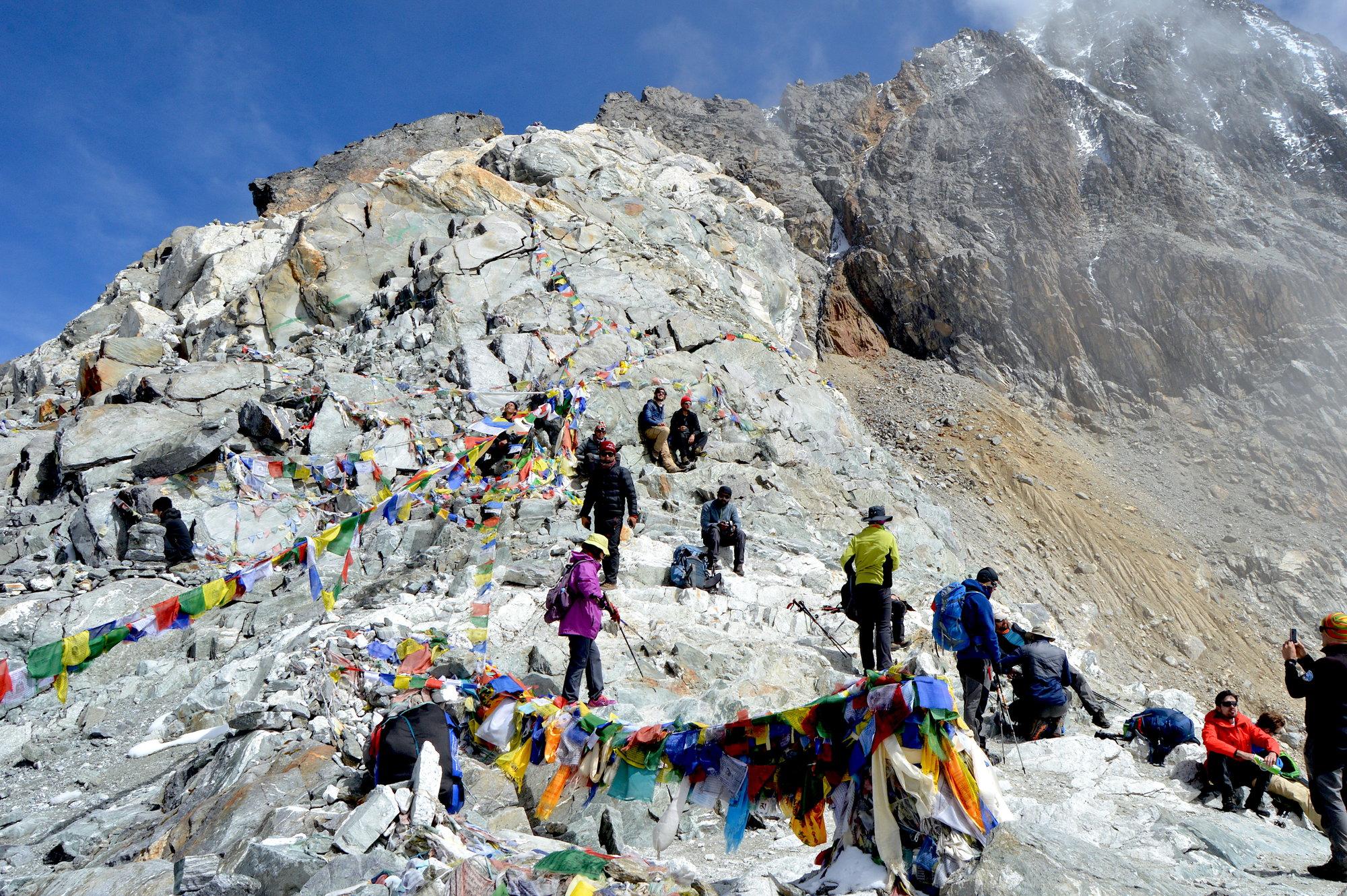 vrchol priesmyku Chola 5 420 m
