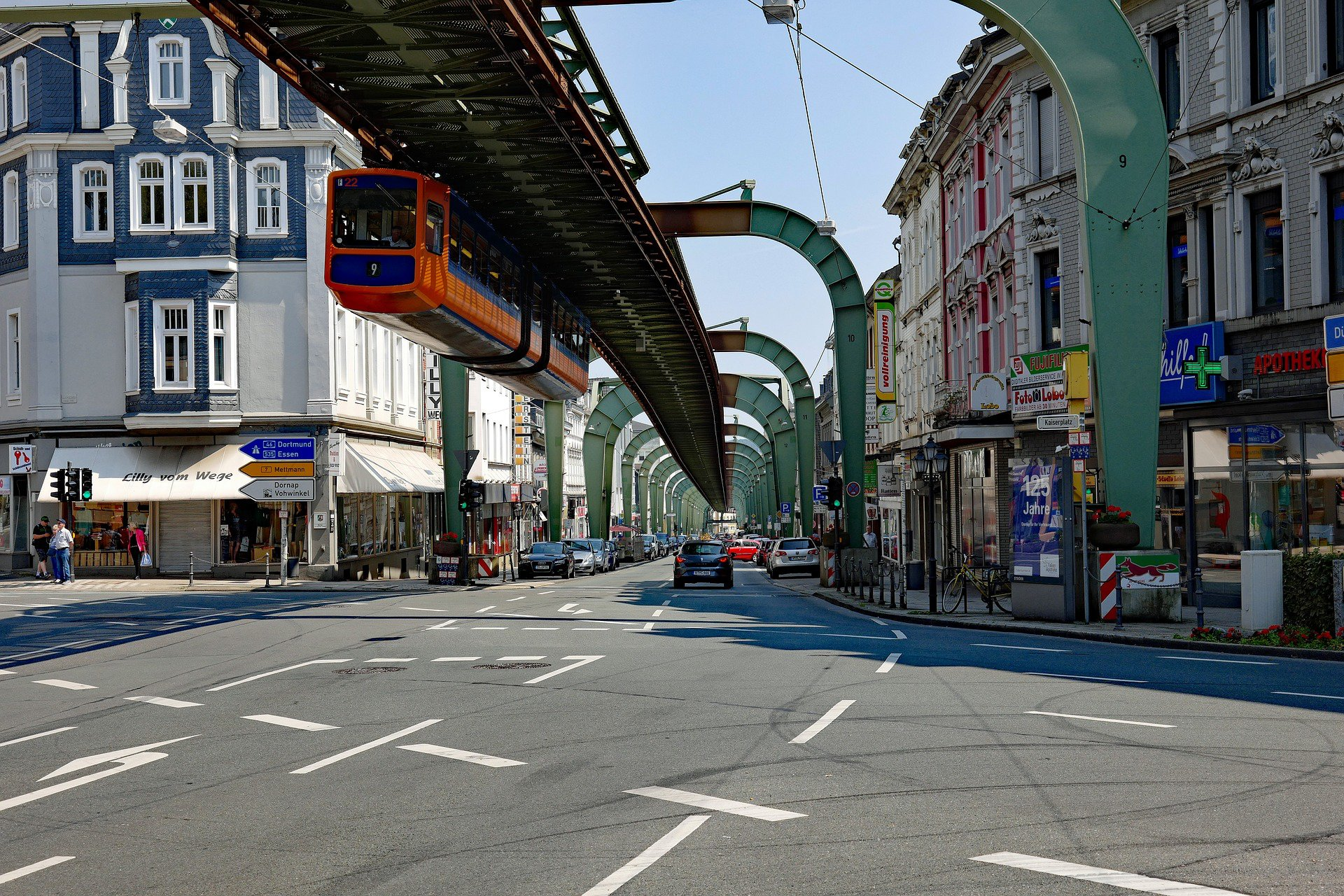 Wuppertal, Schwebebahn