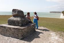 Country Park Seven Sisters – památník Williama Charlese Campbella