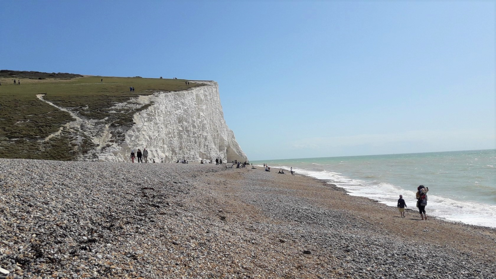 Cuckmere Haven (křídové útesy)