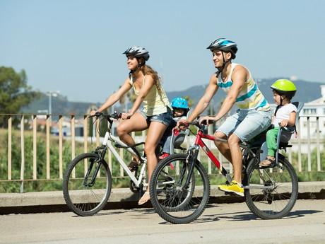 Bicyklovanie je úžasná aktivita...