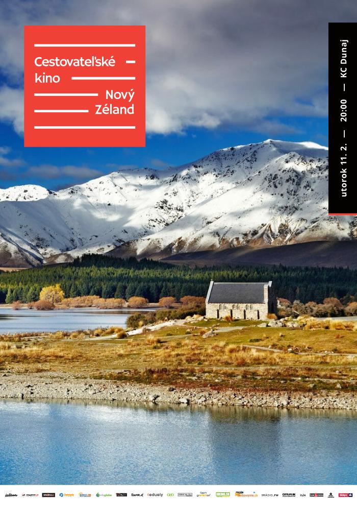 Cestovateľské kino - Nový Zéland