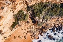 pohľad z dronu