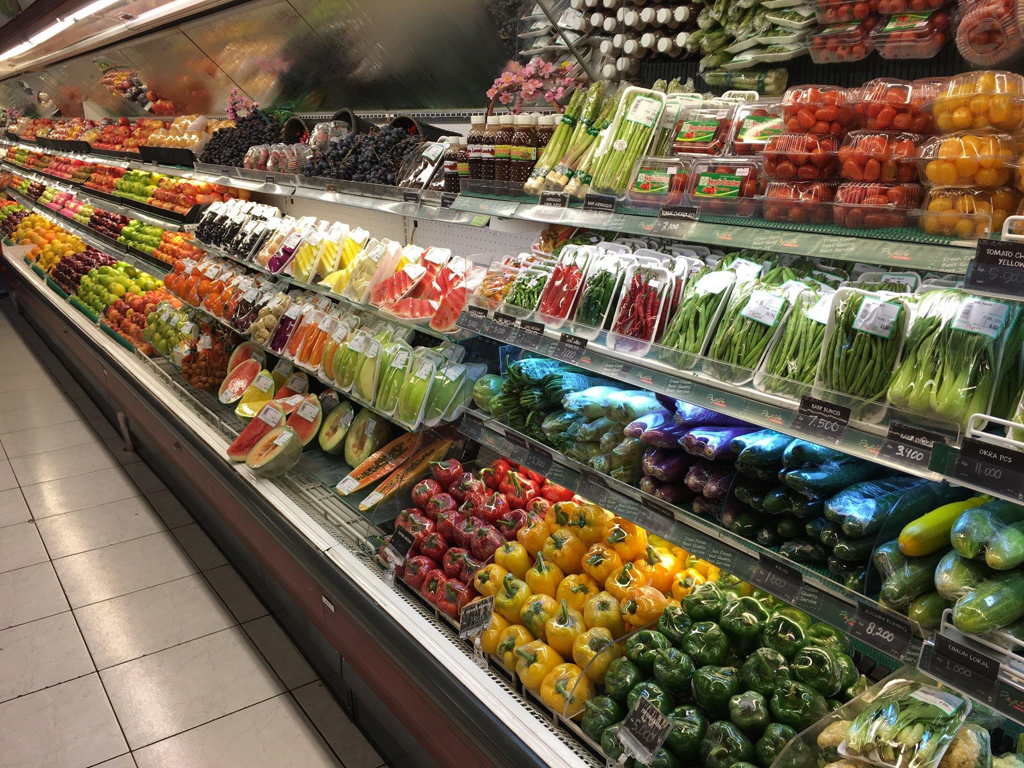 supermarket v Kutě