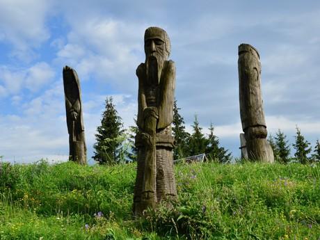 Východná - sochárske umenie