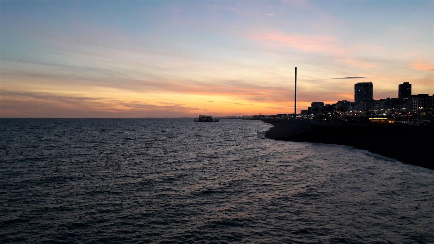 výhled z Palace Pier