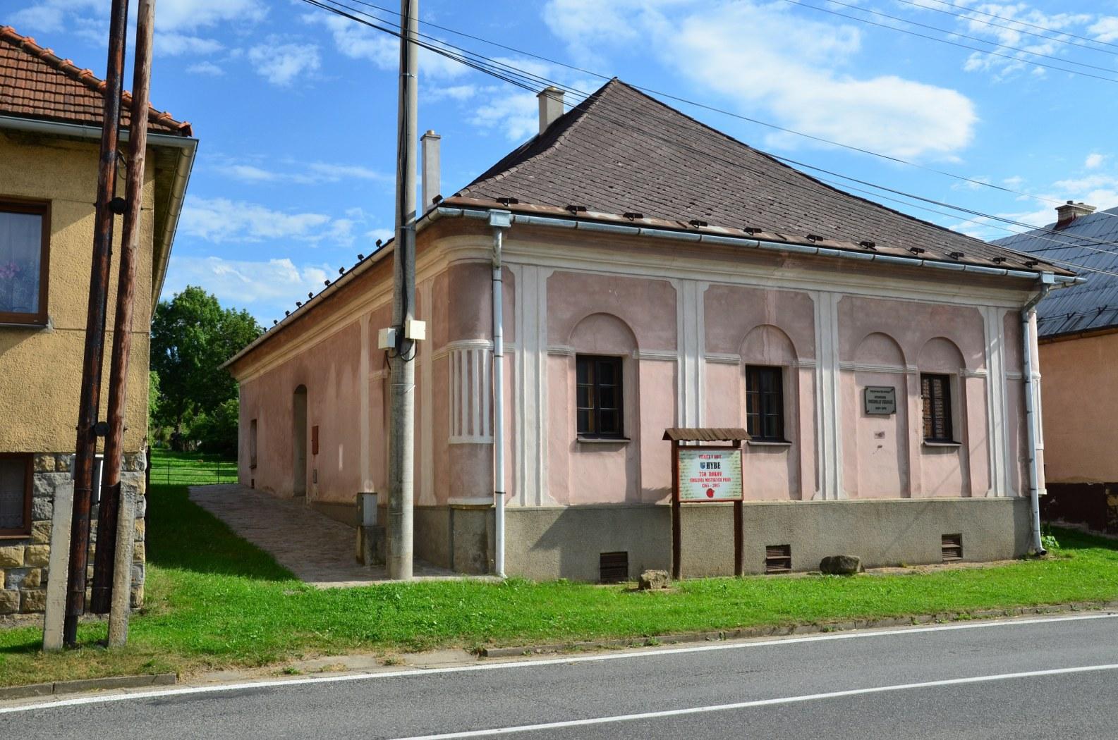 památný dům Dobroslava Chrobáka