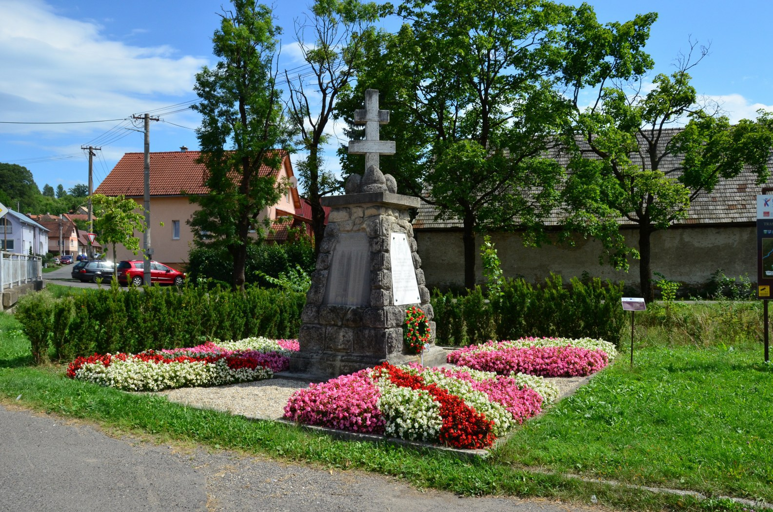 pomník padlým občanům vI. aII. světové válce