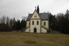 Гробница Шварценбергов в замковом парке Орлик