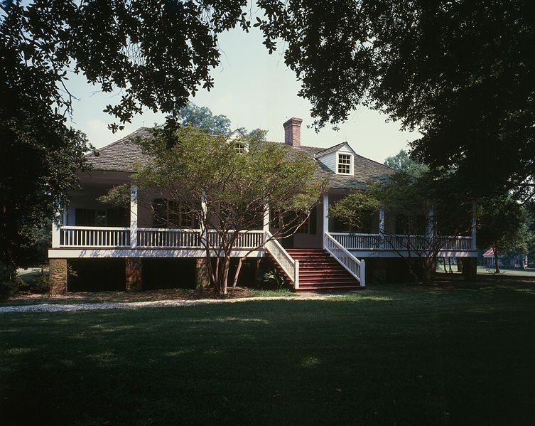 Magnolia Plantation House