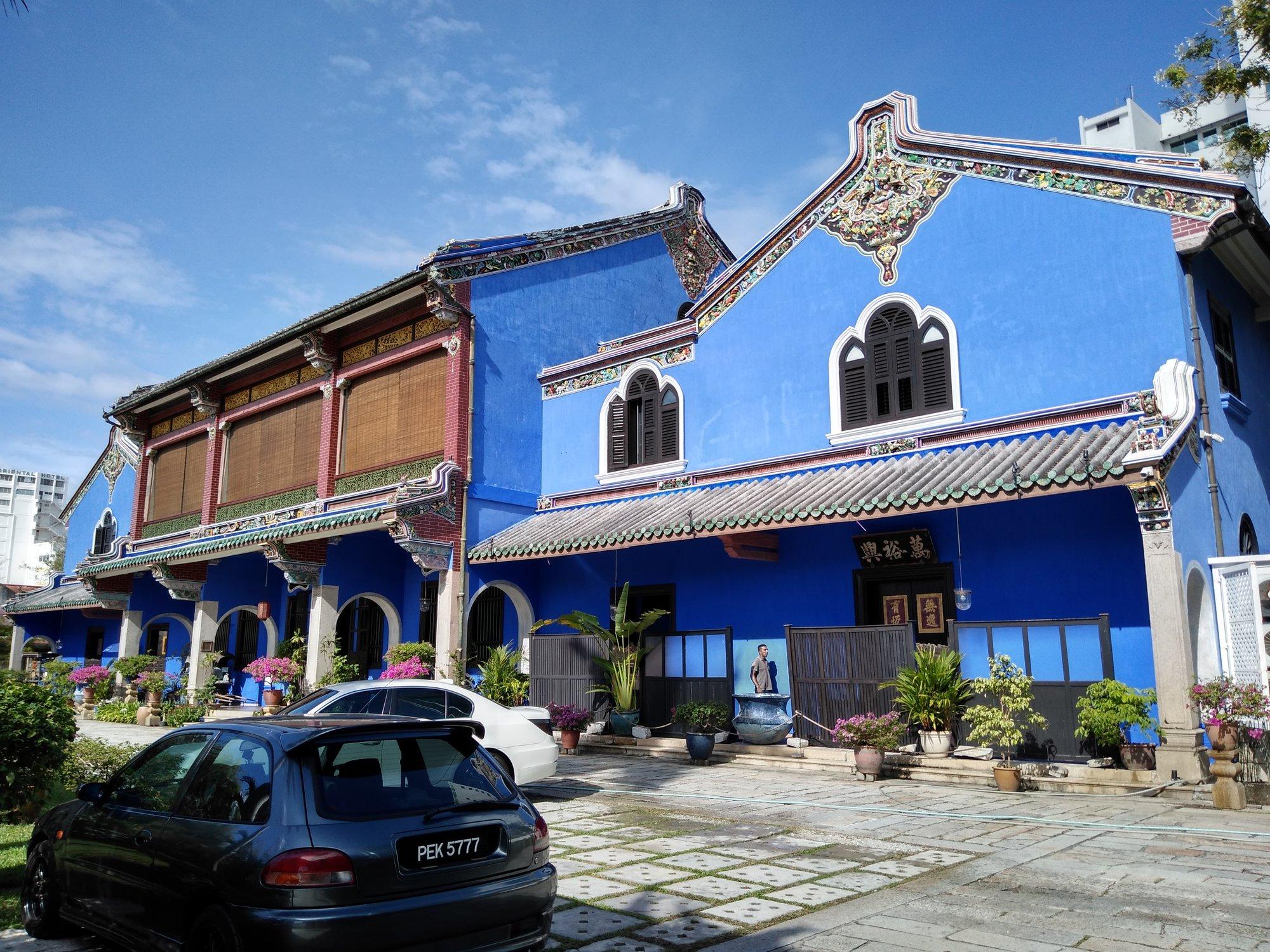 jediné povolené nakouknutí k Cheong Fatt Tze Mansion