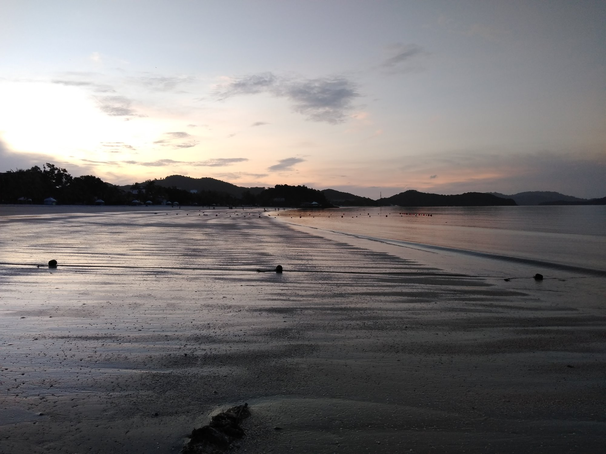 pláž Pantai Cenang