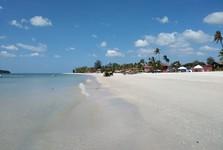 pláž v Pantai Cenang